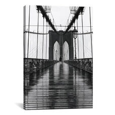 Brooklyn Bridge (New York City) by Christopher Bliss Gallery Wrapped Canvas Artwork