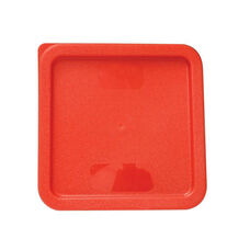 Plastic Square Lid in Red