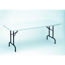 RX-Series Blow-Molded Tamper Resistant Rectangular Folding Table - 30''D x 72''W