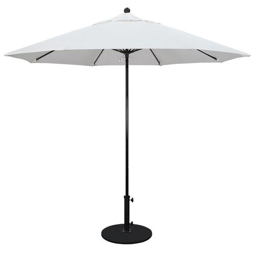 Our 9 Ft. Fiberglass Market Umbrella with Push Lift and Single Wind Vent - Black Finish is on sale now.