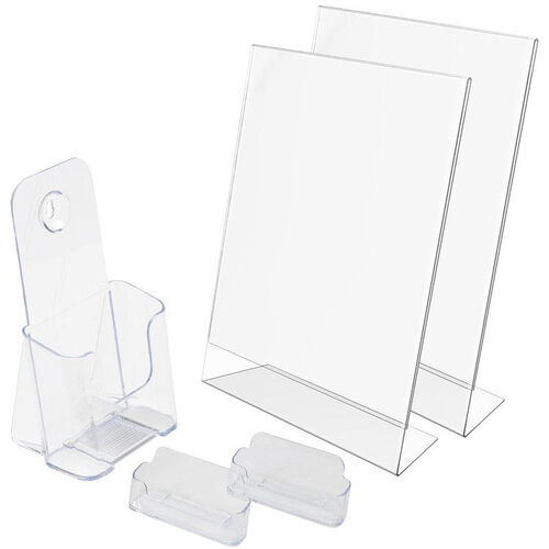 Our New Business 5 Piece Display Starter Kit - Clear is on sale now.