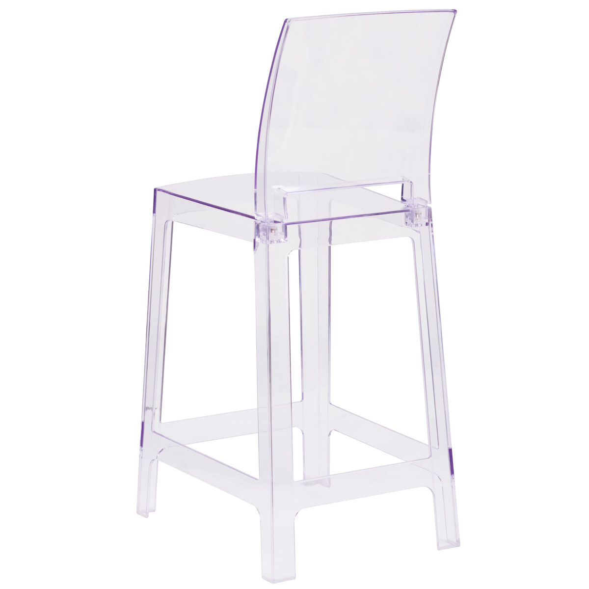 Square Back Ghost Stool Ow Squareback 24 Gg