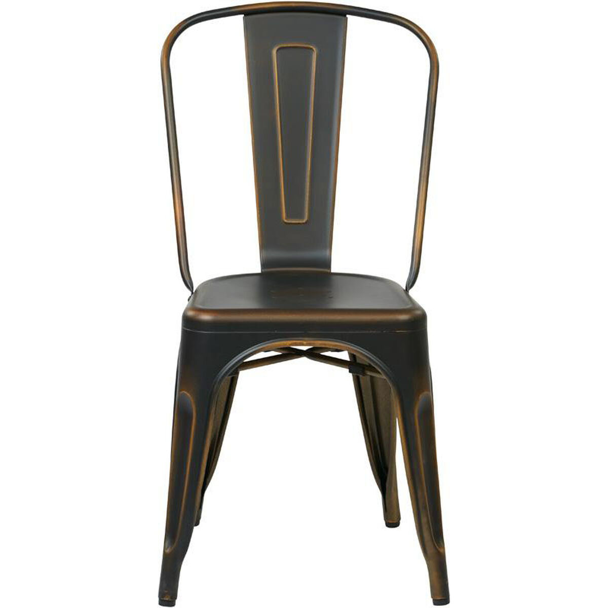 Set Of 4 Copper Stacking Chair Brw29a4 Ac