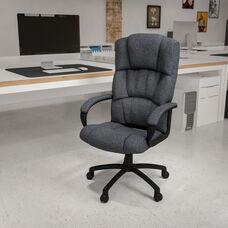 Gray Fabric with Black Nylon finish