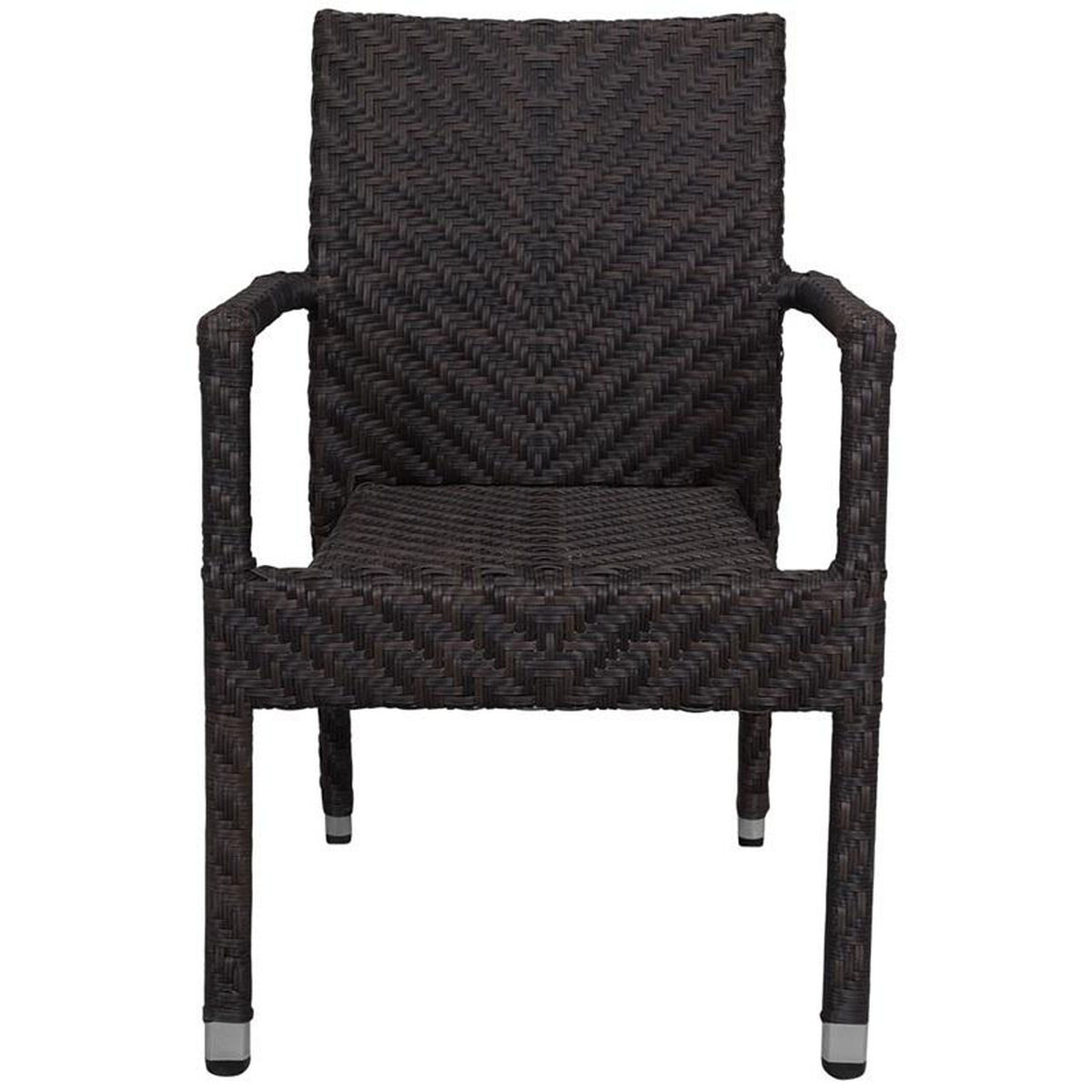 Source Contract Miami Duraweave Stackable Dining Arm Chair