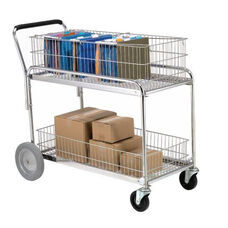 Chrome Service Cart - 24