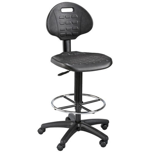 Our LabTek Height Adjustable Utility Drafting Chair - Black is on sale now.