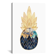 Precious Pineapple I by Elisabeth Fredriksson Gallery Wrapped Canvas Artwork