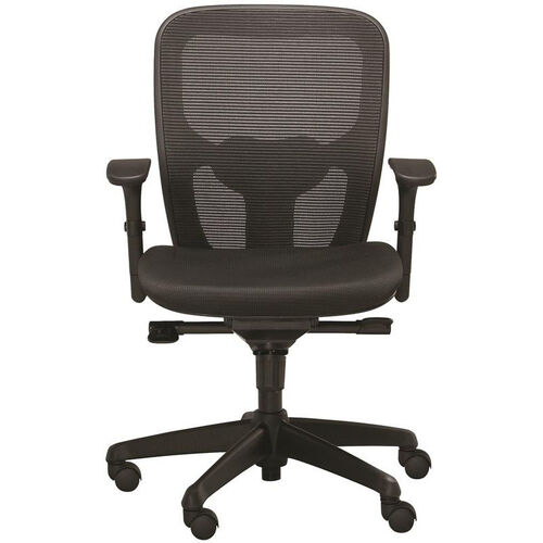 Our Polo Task Chair with Contoured Mesh Back - Black is on sale now.
