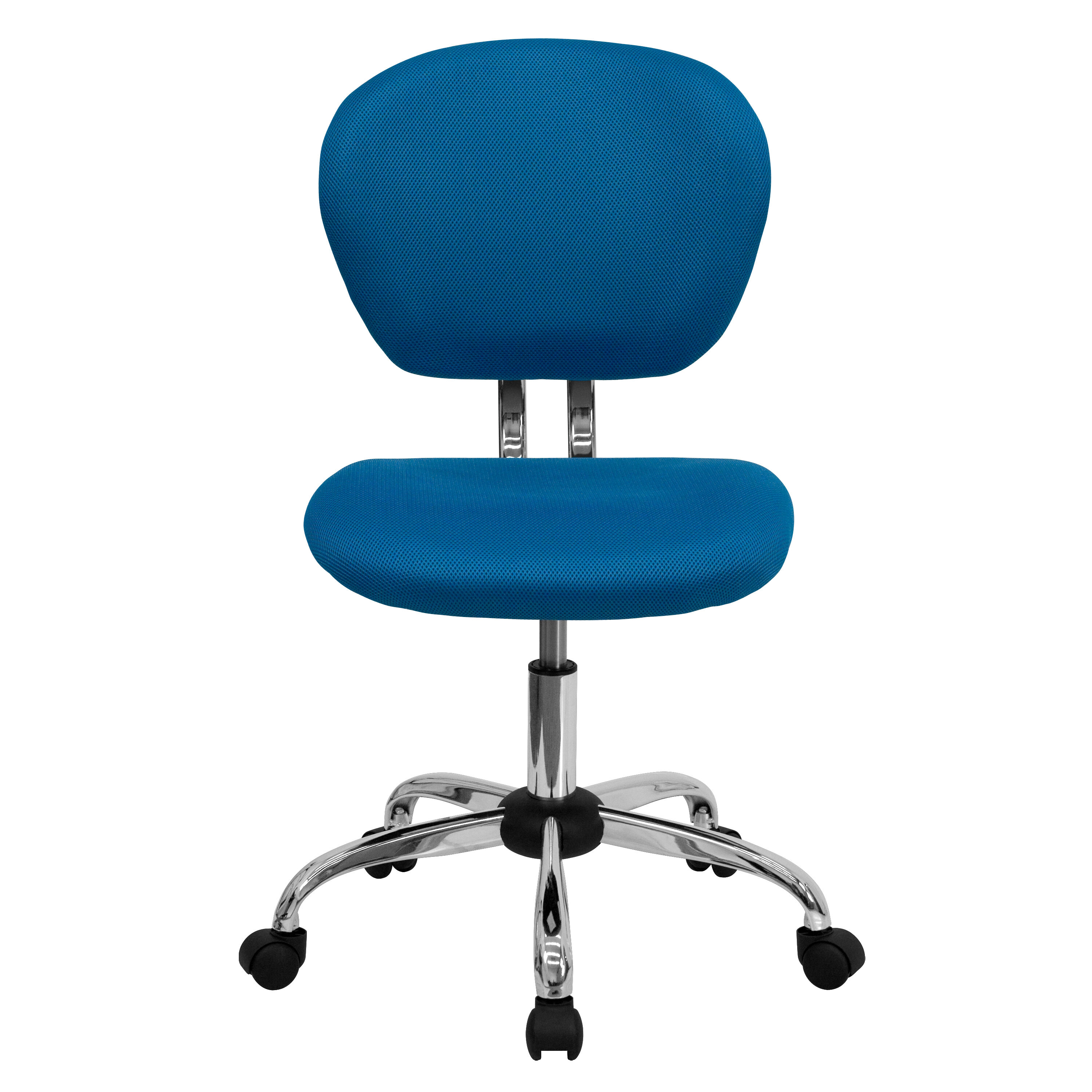 Merveilleux ... Our Mid Back Turquoise Mesh Swivel Task Chair With Chrome Base Is On  Sale Now