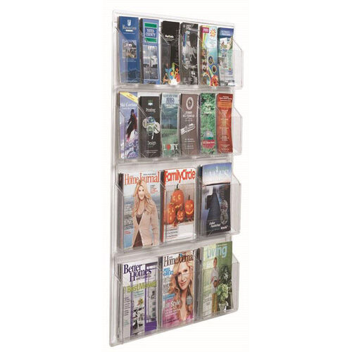 Our Clear-VU Combination Pamphlet and Magazine Display - 12 Pamphlets and 6 Magazines is on sale now.