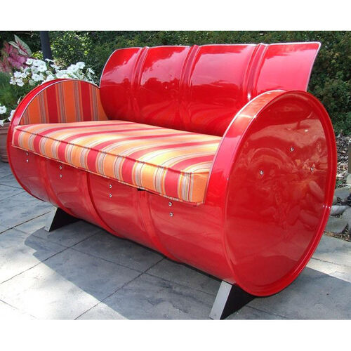 Our Salsa Steel Drum Loveseat with Multicolor Accents is on sale now.