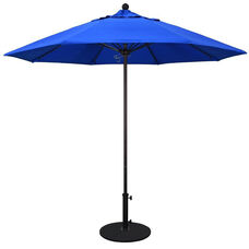 9 Ft. Market Umbrella with Push Lift and Single Wind Vent - Bronze Aluminum Pole