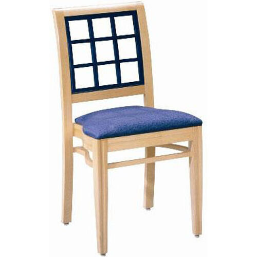 Our 599 Stacking Chair w/ Upholstered Seat - Grade 1 is on sale now.