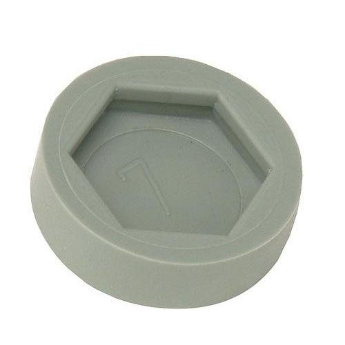 Plastic Floor Glides - Set of 4 - Gray