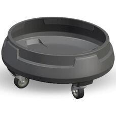 Cobra 35-55 Gallon Trash Can Dolly - Black