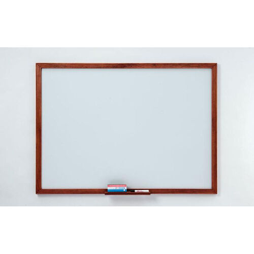 110 Series Markerboard with Wood Frame - 48