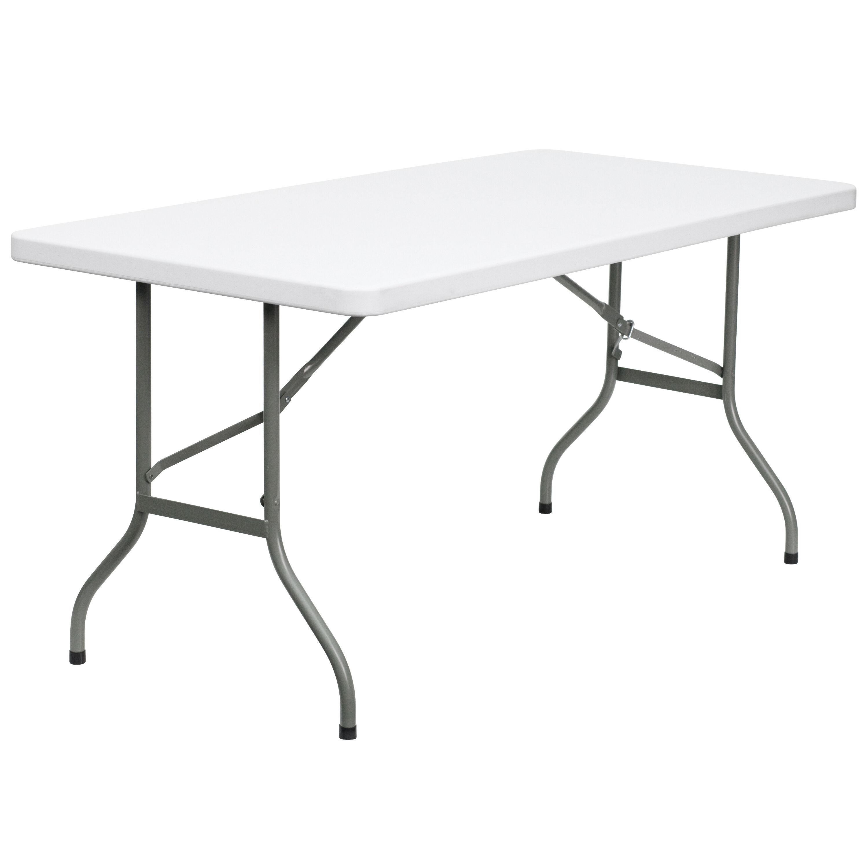 - 30x60 White Plastic Fold Table DAD-YCZ-152-GG