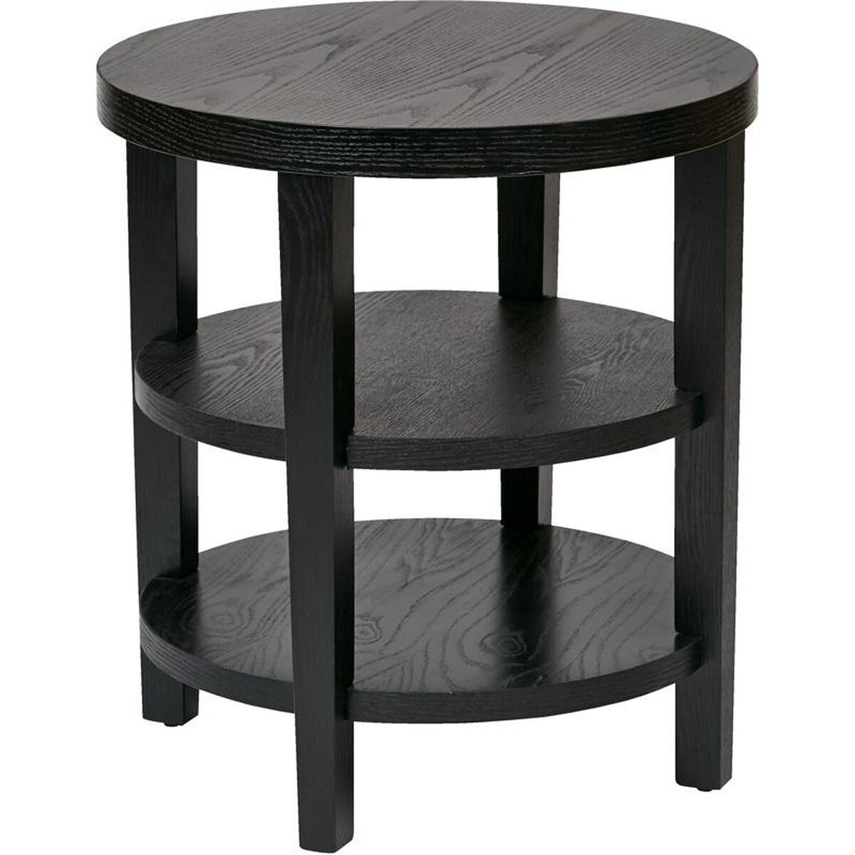 Ave Six Merge Round End Table Restaurantfurniture4less Com