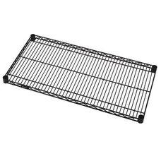 Wire Shelf 12'' W x 36'' L - Black