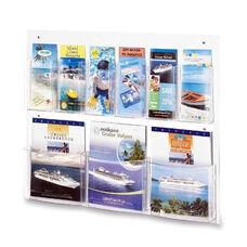 Safco Magazine/Pamphlet Display -9 Pockets -28