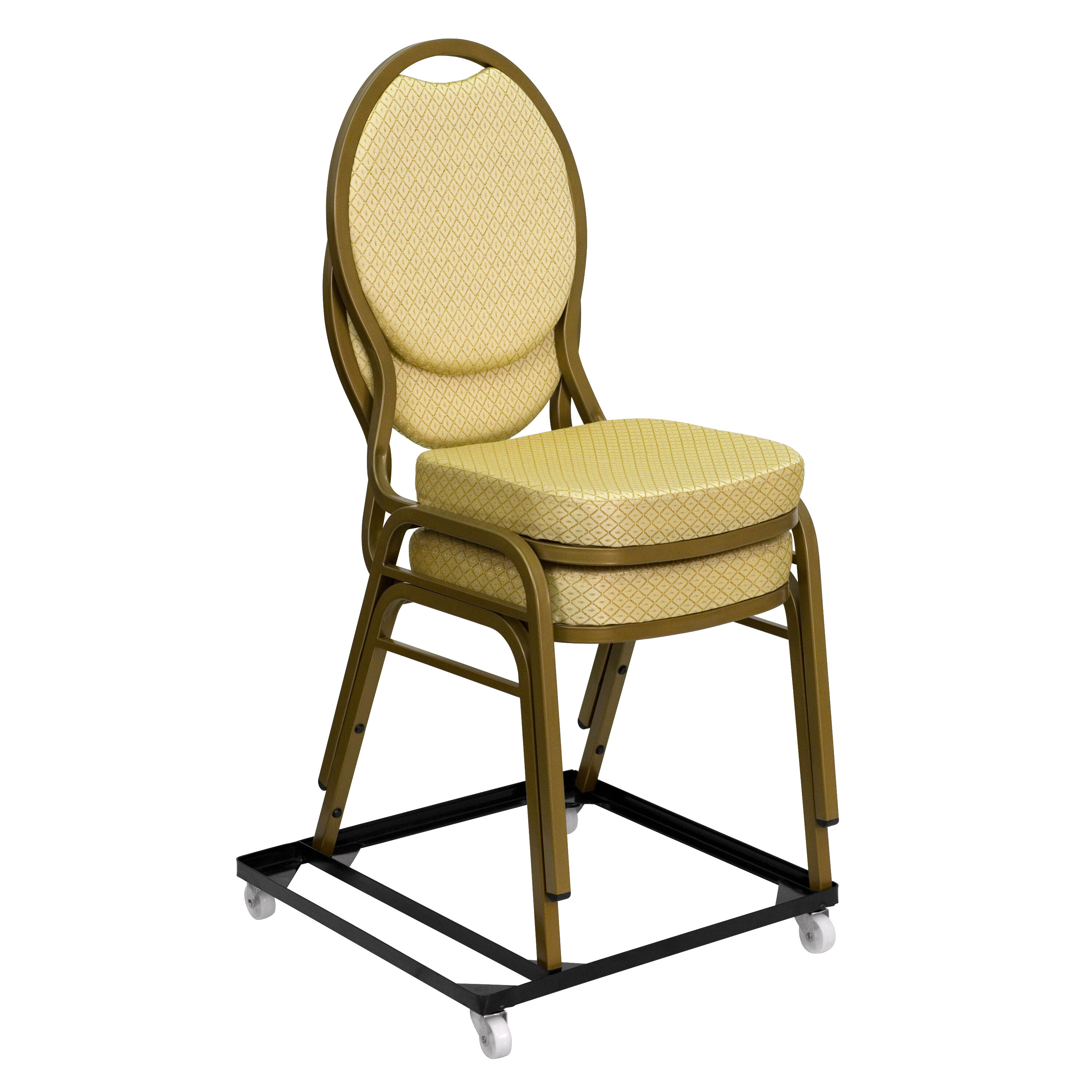Black Stack Chair Dolly FD BAN CH DOLLY GG | RestaurantFurniture4Less.com