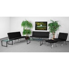"HERCULES Flash Series Reception Set in Black with <span style=""color:#0000CD;"">Free </span> Tables"