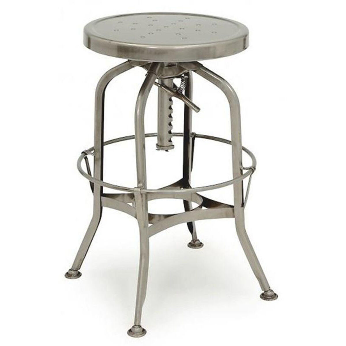 Toledo Adjustable Gunmetal Barstool Ls 9200 Gun