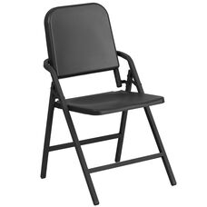 HERCULES Series Black High Density Folding Melody Band/Music Chair