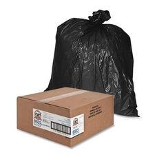 Genuine Joe Heavy -Duty Trash Bags - 1.5 Mil - 55 -60 Gallon - 50 per Box - Black