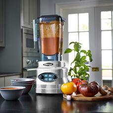 Omega OM7560S 3HP 10 speed blender with 64oz. Jar with Timer