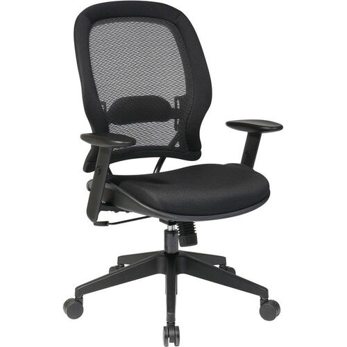 Our Space Air Grid Back and Mesh Seat Managers Chair with Adjustable Arms - Black is on sale now.