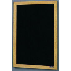 350 Series Open Face Directory with Wood Frame - 48