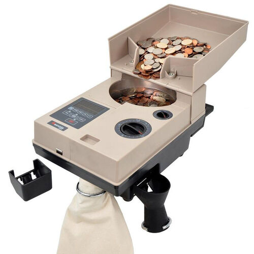 Our C500 Portable Heavy-Duty Coin Counter and Off Sorter - 2,000 Coins/Minute is on sale now.