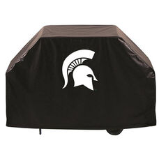 Michigan State University Logo Black Vinyl 60