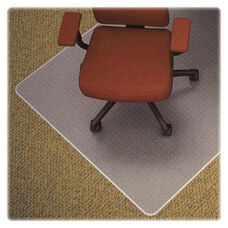 Lorell Chair Mat - Medium Pile - Wide Lip - 45