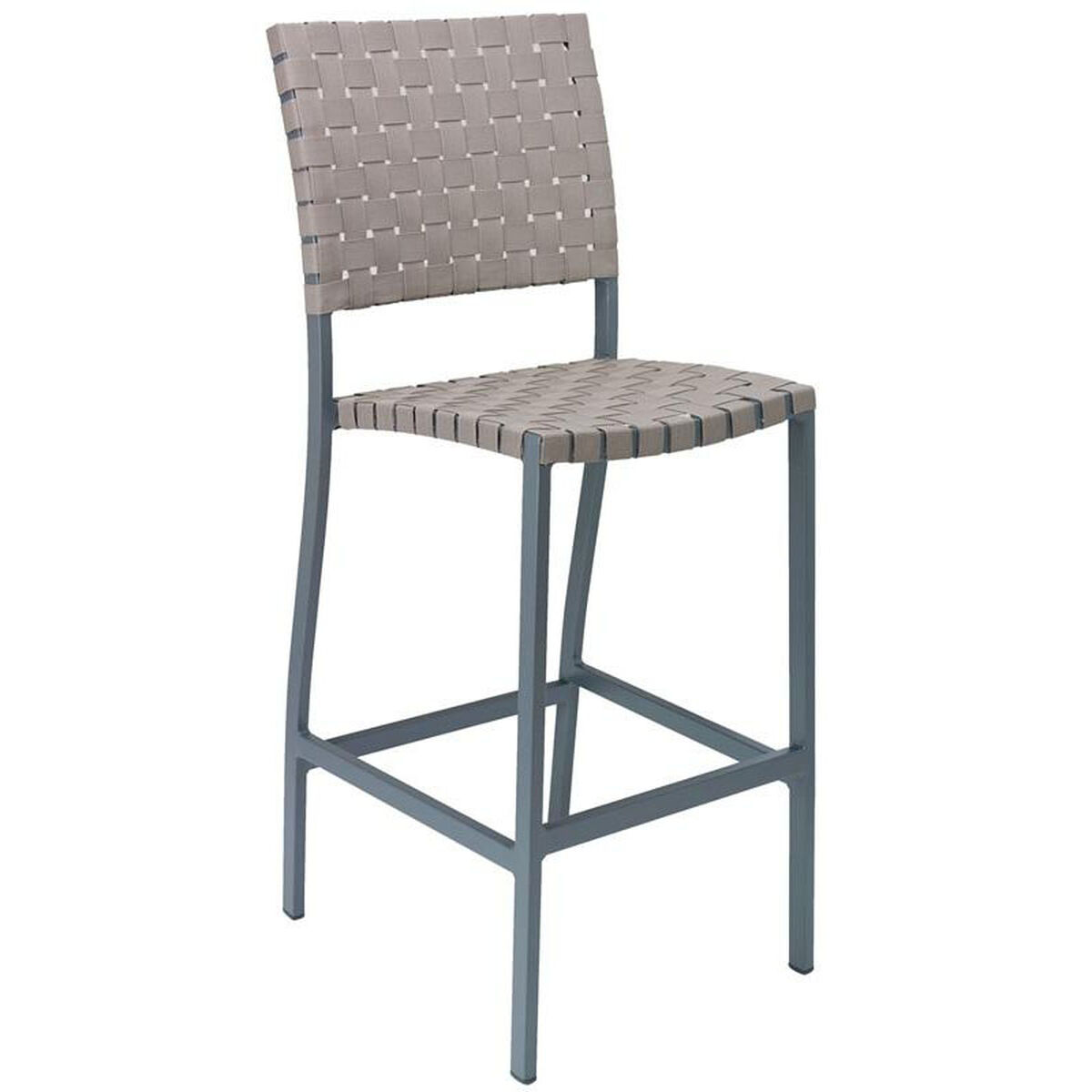 Outdoor Armless Barstool Bal 5800 S Anthrcite Brown