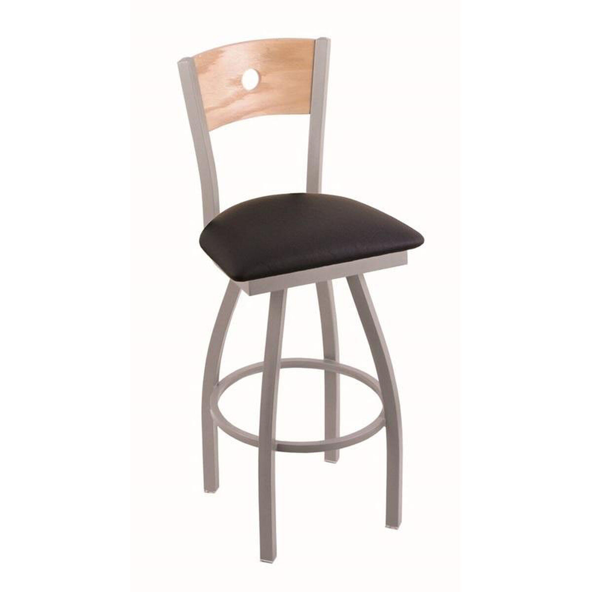 The Holland Bar Stool Co 83025ANNATOAKBBLKVINYL HOB  : THEHOLLANDBARSTOOLCO83025ANNATOAKBBLKVINYL HOBMAINIMAGE from www.restaurantfurniture4less.com size 1200 x 1200 jpeg 49kB