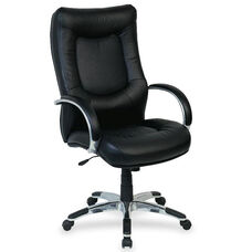 Lorell Stonebridge Leather Executive High Back Chair