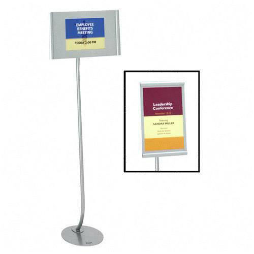 Our Quartet Landscape/Portrait Designer Sign Stand is on sale now.