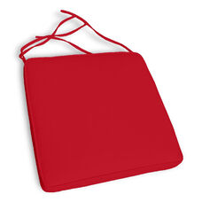 Miami Wickerlook Dining Chair Cushion Set of 4 - Logo Red