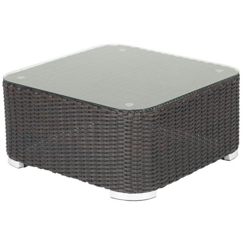 Ordinaire ... Our Apollo Beach Collection Outdoor Wicker Coffee Table With Glass Top    Indo Is On Sale ...