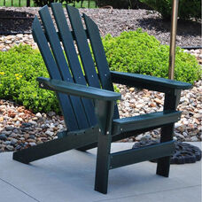 Cape Cod Recycled Plastic Adirondack Chair in Green