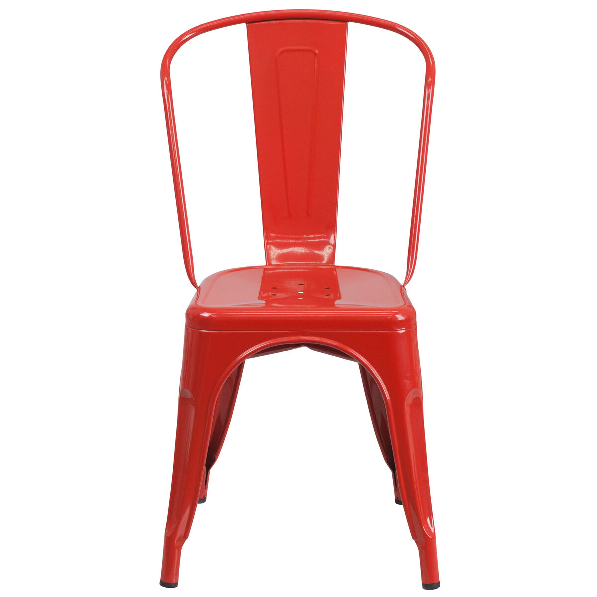Red Metal Chair Ch 31230 Red Gg Restaurantfurniture4less Com