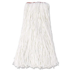 Rubbermaid® Commercial Premium Cut-End Rayon Mop Head - 16oz - White - 1