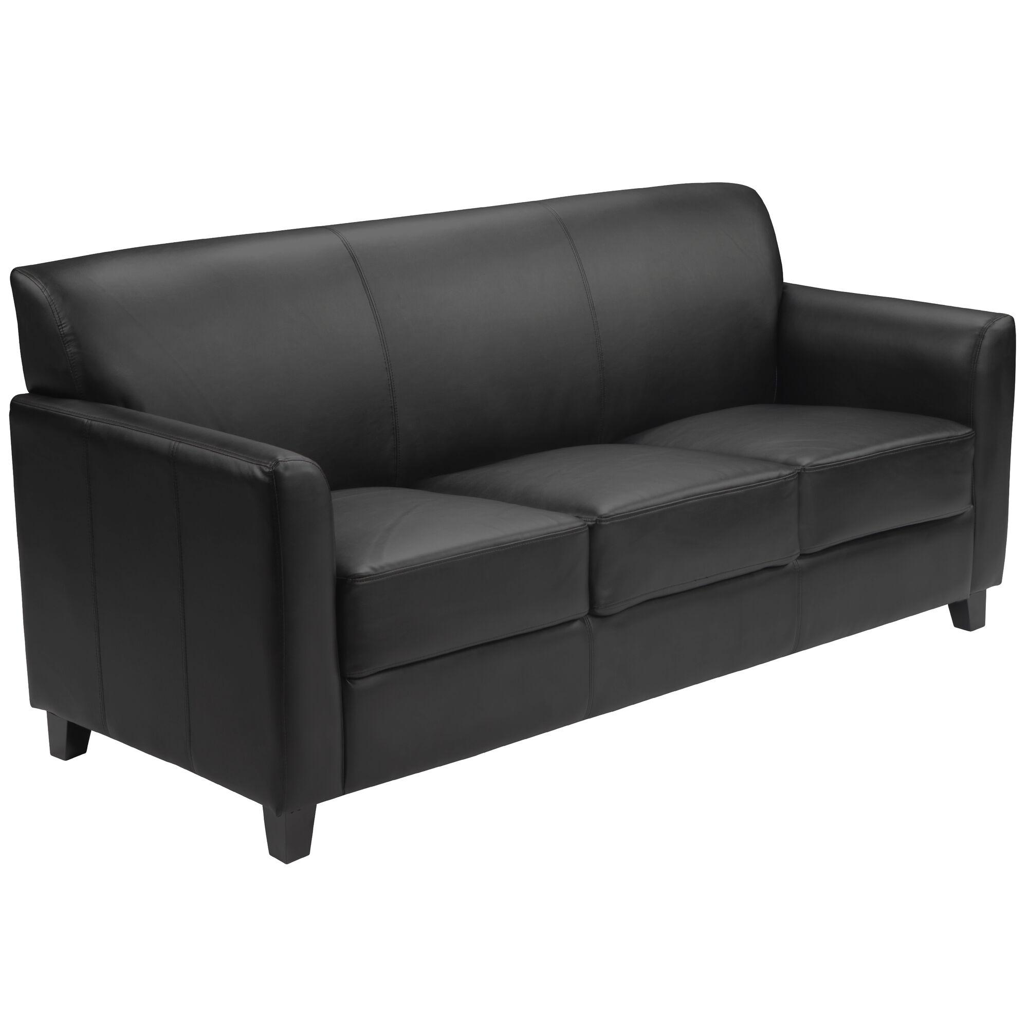 Flash Furniture HERCULES Diplomat Series Black Leather ...