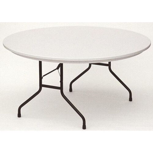 Our RX-Series Blow-Molded Tamper Resistant Round Folding Table - 60