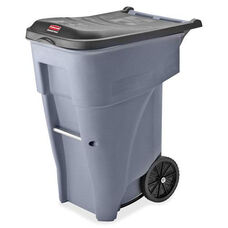 Rubbermaid Commercial Products Big Wheel General Roll-out Container - 25