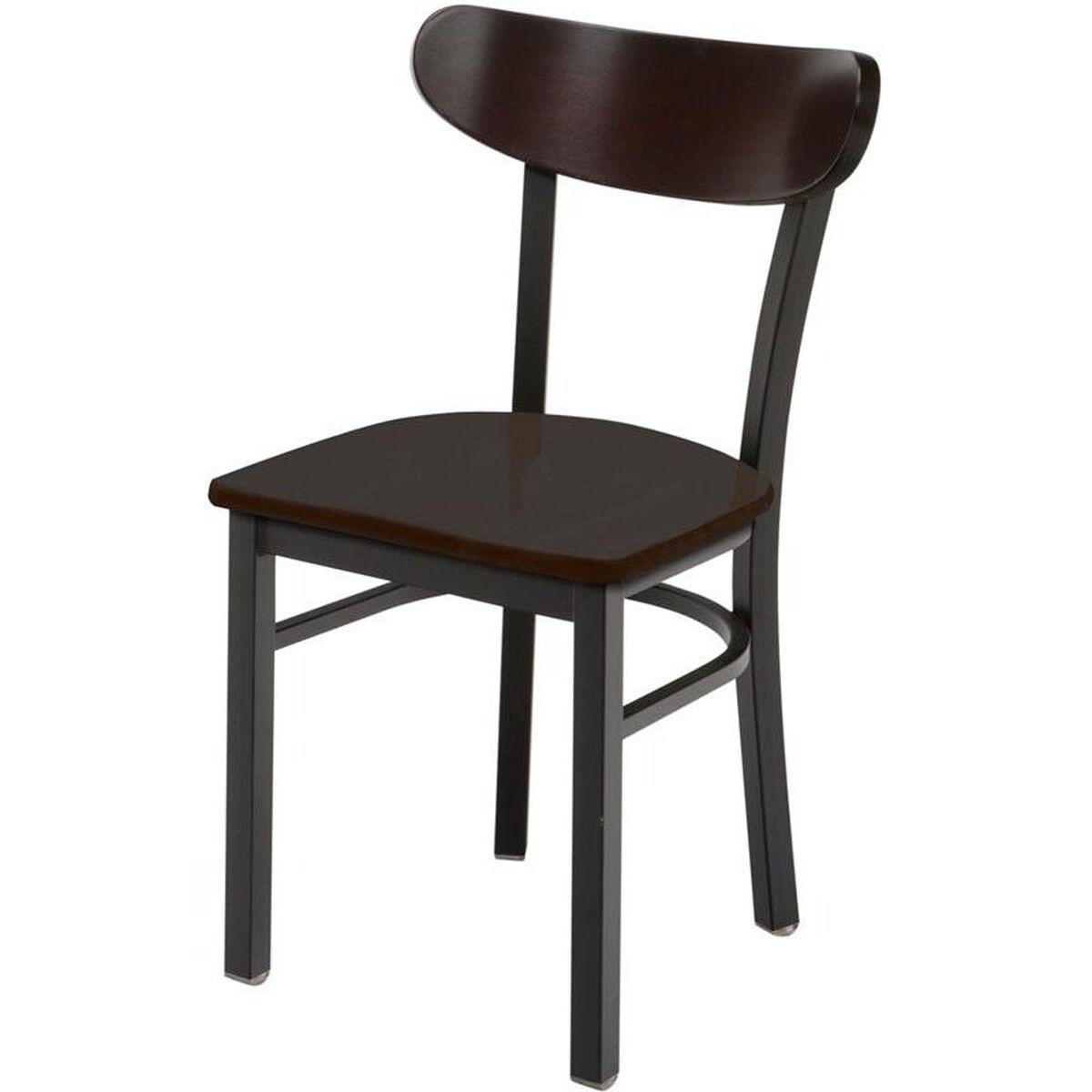 Cafe Chair Wood Seat 3319K-WOOD | RestaurantFurniture4Less.com