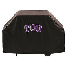 Texas Christian University Logo Black Vinyl 60